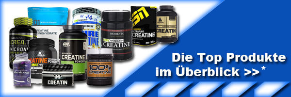 Creatin-Supplemente-Uebersicht-Test