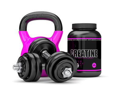 creatine ahnteln kettleball